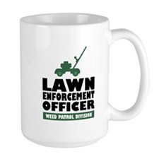Lawn Enforcement Mug