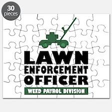 Lawn Enforcement Puzzle