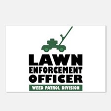 Lawn Enforcement Postcards (Package of 8)