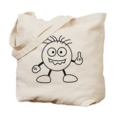 bad_finger Tote Bag