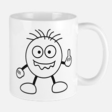 bad_finger Small Small Mug