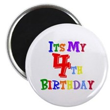 4th Birthday Magnet