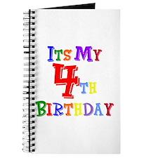4th Birthday Journal