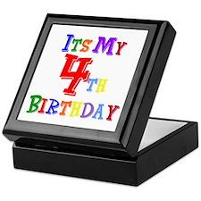 4th Birthday Keepsake Box