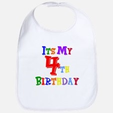 4th Birthday Bib
