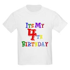 4th Birthday Kids T-Shirt
