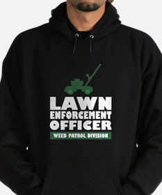 Lawn Enforcement Hoodie (dark)