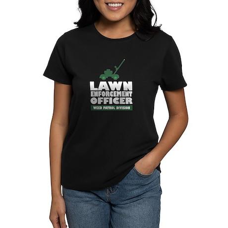 Lawn Enforcement Women's Dark T-Shirt