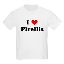 I Love Pirellis Kids T-Shirt