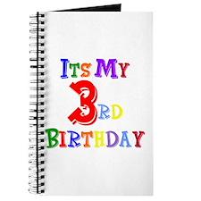 3rd Birthday Journal