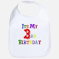 3rd Birthday Bib