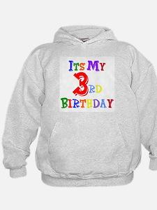 3rd Birthday Hoodie