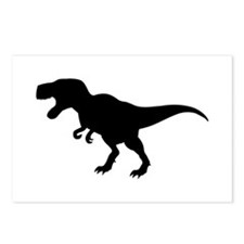 Dinosaur T-Rex Postcards (Package of 8)