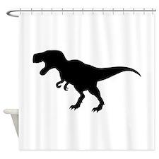 Dinosaur T-Rex Shower Curtain