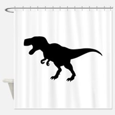 Dinosaur T-Rex Shower Curtain