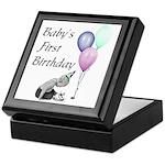 Baby's First Birthday Keepsake Box