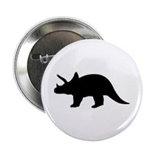 "Dinosaur triceratops 2.25"" Button"