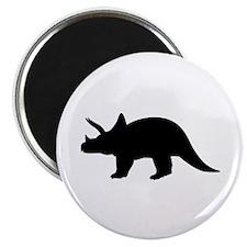 "Dinosaur triceratops 2.25"" Magnet (10 pack)"