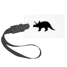 Dinosaur triceratops Luggage Tag