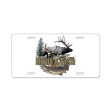 Hunt and Fish Aluminum License Plate