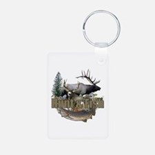 Hunt and Fish Aluminum Photo Keychain