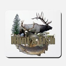 Hunt and Fish Mousepad