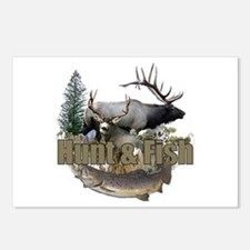 Hunt and Fish Postcards (Package of 8)