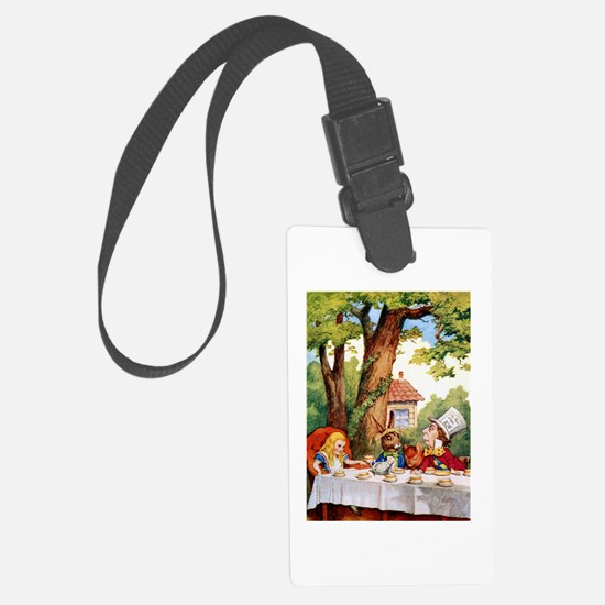 Mad Hatter's Tea Party Luggage Tag