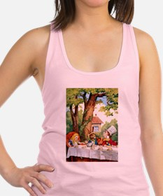 Mad Hatter's Tea Party Racerback Tank Top