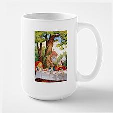 Mad Hatter's Tea Party Large Mug