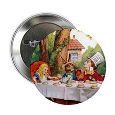 "Mad Hatter's Tea Party 2.25"" Button (10 pack)"