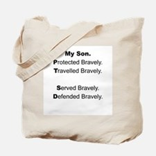 PTSD - My Son Protected Tote Bag