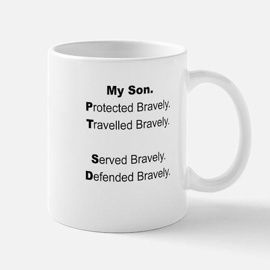 PTSD - My Son Protected Mug