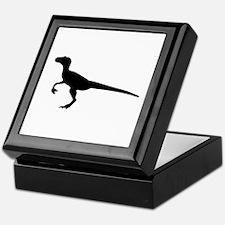 Dinosaur velociraptor Keepsake Box