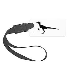 Dinosaur velociraptor Luggage Tag