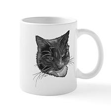 Grey and White Cat Mug