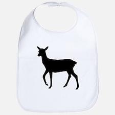 Black deer Bib