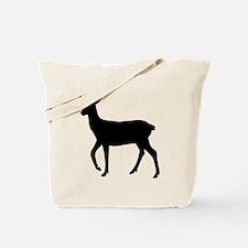 Black deer Tote Bag