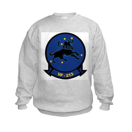 F-14 Tomcat VF-213 Black Lion Kids Sweatshirt