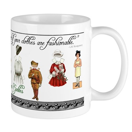 Anne Of Green Gables Mug By Ivmoores