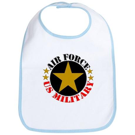 """Air Force, US Military"" Bib"