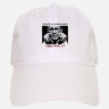 Rumsfeld is confused Baseball Baseball Cap