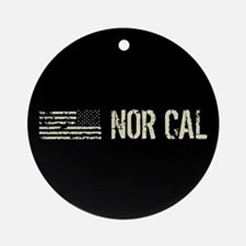 Black Flag: Nor Cal Round Ornament
