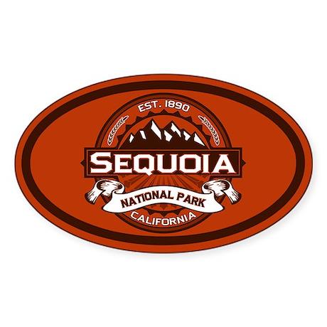 Sequoia Crimson Oval