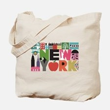 Unique New York - Block by Block Tote Bag