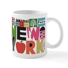 Unique New York - Block by Block Mug