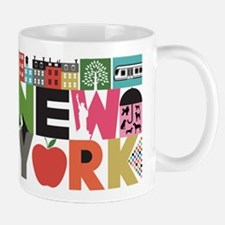 Unique New York - Block by Block Mug
