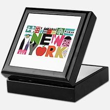 Unique New York - Block by Block Keepsake Box