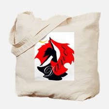 Dancing Dancer Tote Bag