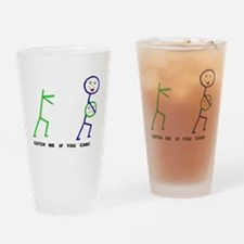 catch me if you can Drinking Glass